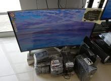 عرض شاشات نيكاي واي فاي منحنيه 4k جميع المقاسات