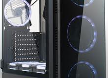 مطلوب صندوق كمبيوتر mid tower case مثل اللي موجود بالصور.