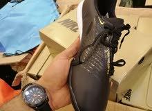 اعلان احذية كرة قدم