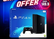 special offer PS4 1TB Pro 4K and HDR with One year Replacement Guarantee