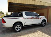 For sale Toyota Hilux car in Abu Dhabi