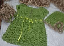 ملابس اطفال كروشيه بناتي وولادي