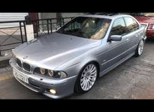 Blue BMW 530 2003 for sale