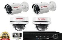 كاميرا ت مراقبة lAHD(yes original) 1mpنظام كامل بالتركيب
