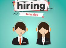 We are hiring Telesales /indoor sales