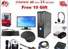 Dell Optiplex 620 RAM 4GB HDD 160 GB Full sat Free 10 Gifts