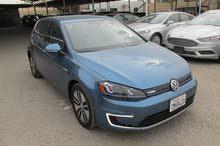 Volkswagen E-Golf 2015 For sale - Blue color