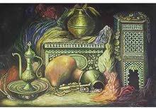 لوحات أصلية بالألوان الزيتية