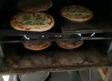 فرن حراري كبير مع اصواني تبع الفرن عدد6 ينفع لمطاعم شغال كامل