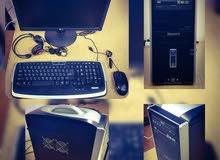 كمبيوتر مكتبي مستعمل بحالة جيدة للبيع
