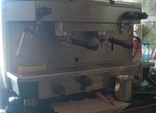 معدات مقهي جديده استعمال شهر واحد فقط