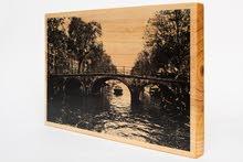 اطبع صورك المفضلة على الخشب ، print your photos on wood