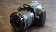 كاميرا كانون 4000D جديدة بسعر منافس