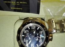 used for one time...like newwww no scratches very clean big watch original with