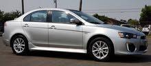 Automatic White Mitsubishi 2016 for rent