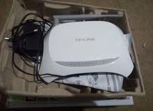 وايرلس واي فاي TpLinkمستعمل فترة قصيرة للبيع   فقط 10دنانير