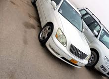 Used condition Lexus LS 2006 with +200,000 km mileage