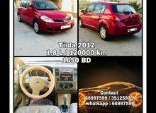 Nissan Tiida (1.8 L) 2012 for sale