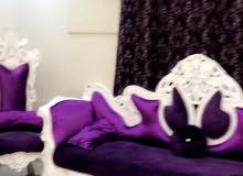 غرفه نوم وكنب