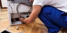 ورشة المتنقلة التبريد صيانة ضمان سنة ثلاجات مجمدات وعوارض
