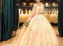 فستان عرس تركي جديد للبيع غير ملبوس