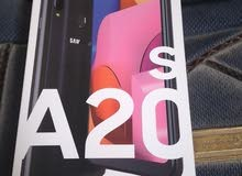 للبيع جوال سامسونج A20s جديد