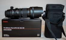 Sigma Nikon 70 200mm f 2.8 vr ii