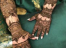 Henna Artist for booking call :