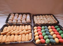 ماهوه ، رهش ،حلوى النارجيل ،الغريبه، عين جمل وأنواع اخرى من الحلويات والبسكويتات