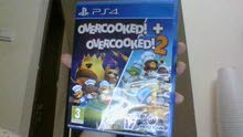 OVER COOKED 1 + OVERCOOKED 2 FOR PS4