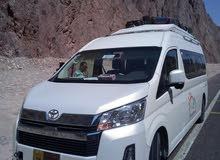 ايجار ميكروباص سياحي تويوتا هايس 14 راكب