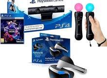 PlayStation VR + VR Worlds + VR Eagle flight +PlayStation VR demo DISC + VR Golf