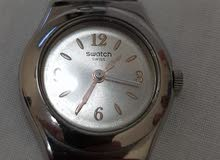 Gold swatch women's watch