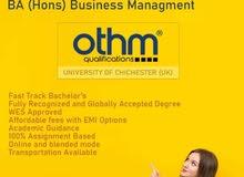 BA/MBA Training In Ajman