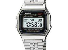 Mens Casio Classic Digital Watch Silver