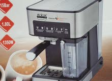 الكمية محدودة ماكينة لصنع القهوة الكوفي مع الحليب (التوصيل مجاناً)