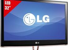 شاشة LG 32 الوجبة الاولى مراوس فقط وي شاشة 55