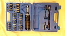 للبيع عدد 2 شنطة عدة شغل 56 قطعة تصلح لجميع الاستخدامات والاغراض