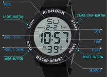 R-SHOCK ساعه ضد الماء حجمها كبير