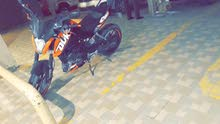 KTM motorbike made in 2016