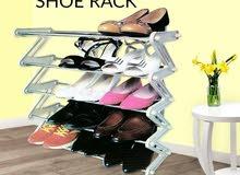 رفوف تنظيم الأحذية