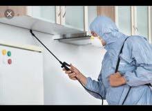 مكافحه حشرات بالضمان. pest control services