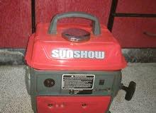 مولدة كهربائية sun show للبيع
