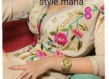 فستان زفاف مغربية