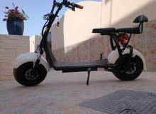 دراجة كهربائة في قمة النظافة.والمشتري له حرية الفحص