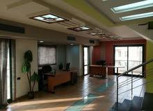 مكتب مفروش دوبلكس 250م فاخر هاي سوبر لوكس بتكييف مركزى بأرقى موقع بعباس العقاد