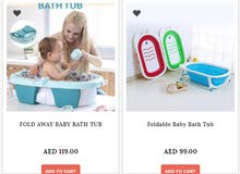 Buy Foldable Baby BathTub. Pay on Delivery