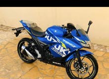 Used Suzuki motorbike made in 2020 for sale