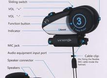 Helmet Bike Bluetooth Headset سماعات لخوذة الدراجات النارية