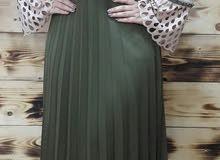 فستان صيفي خامة دابل تركي